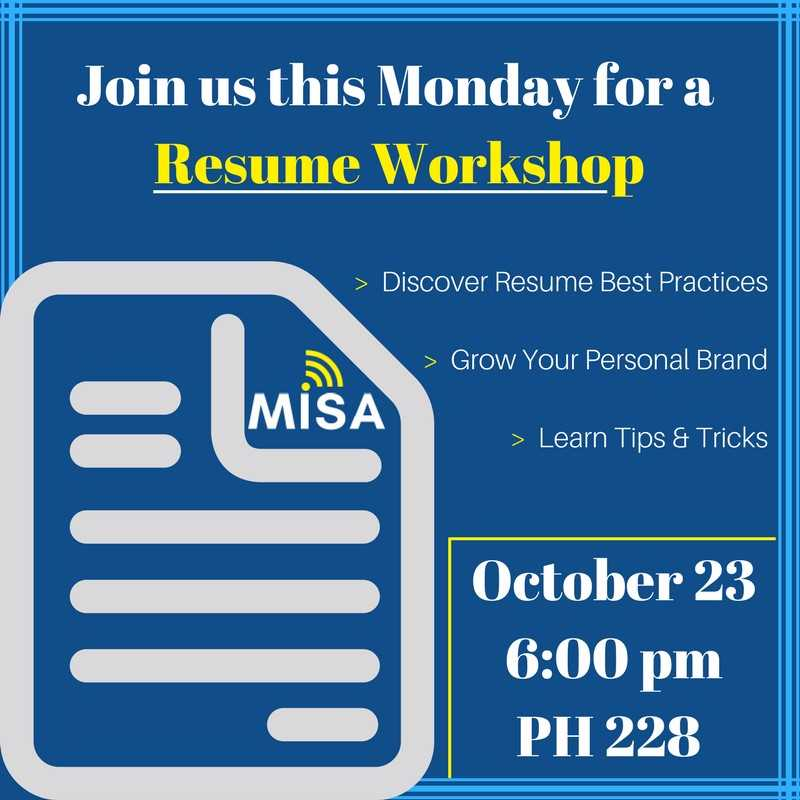 10/23 IS YOUR RESUME READY?