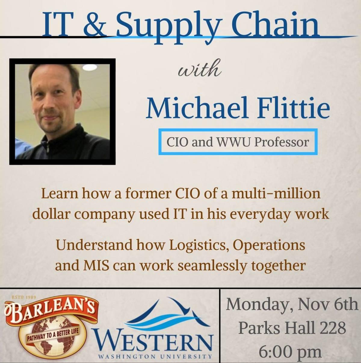 CIO & WWU Professor: MichaelFlittie